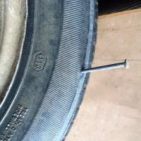 Гвозди 100 мм для колёс автомобиля