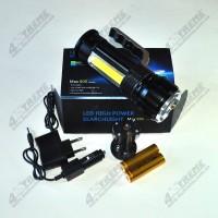 Ручной светодиодный прожектор с аварийным маячком Luxury Police KD-004-T6