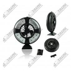 Светодиодный фонарь для кемпинга с вентилятором.  Питание 4*ААА
