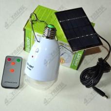 Светодиодная лампа  GD-Lite GD-5005 с аккумулятором, пультом и солнечной батареей