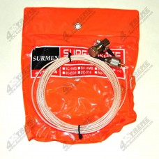 Антенный кабель для автомобильной радиостанции с разъёмами PL-259. 5 метров